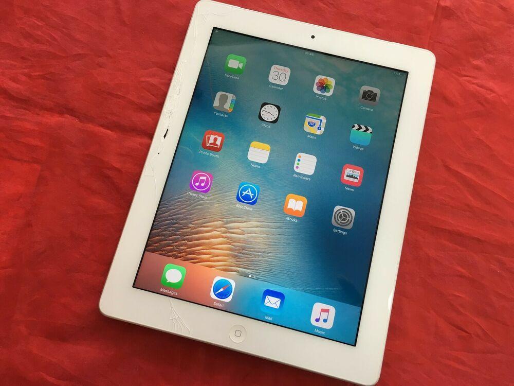 Apple iPad 3 16GB, Wi-Fi+Cellular (Unlocked) White (See