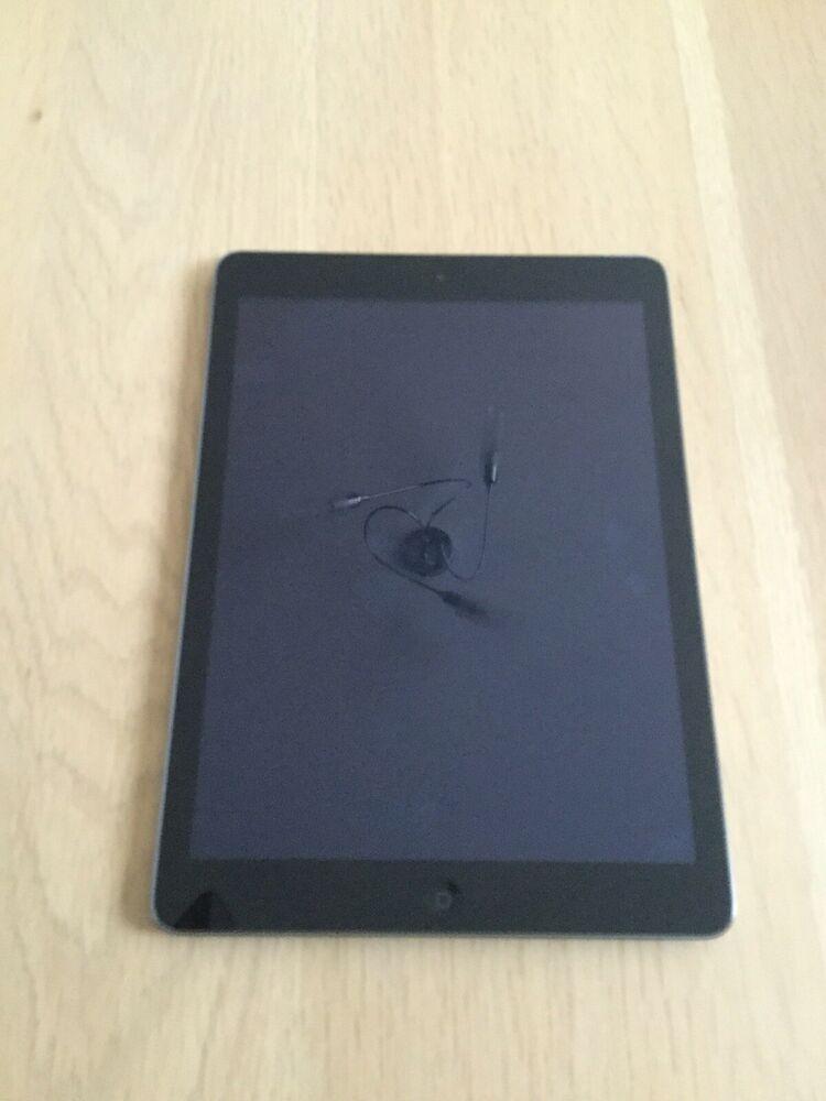 Apple iPad Air 32GB, Wi-Fi + Cellular (Unlocked), 9.7in -