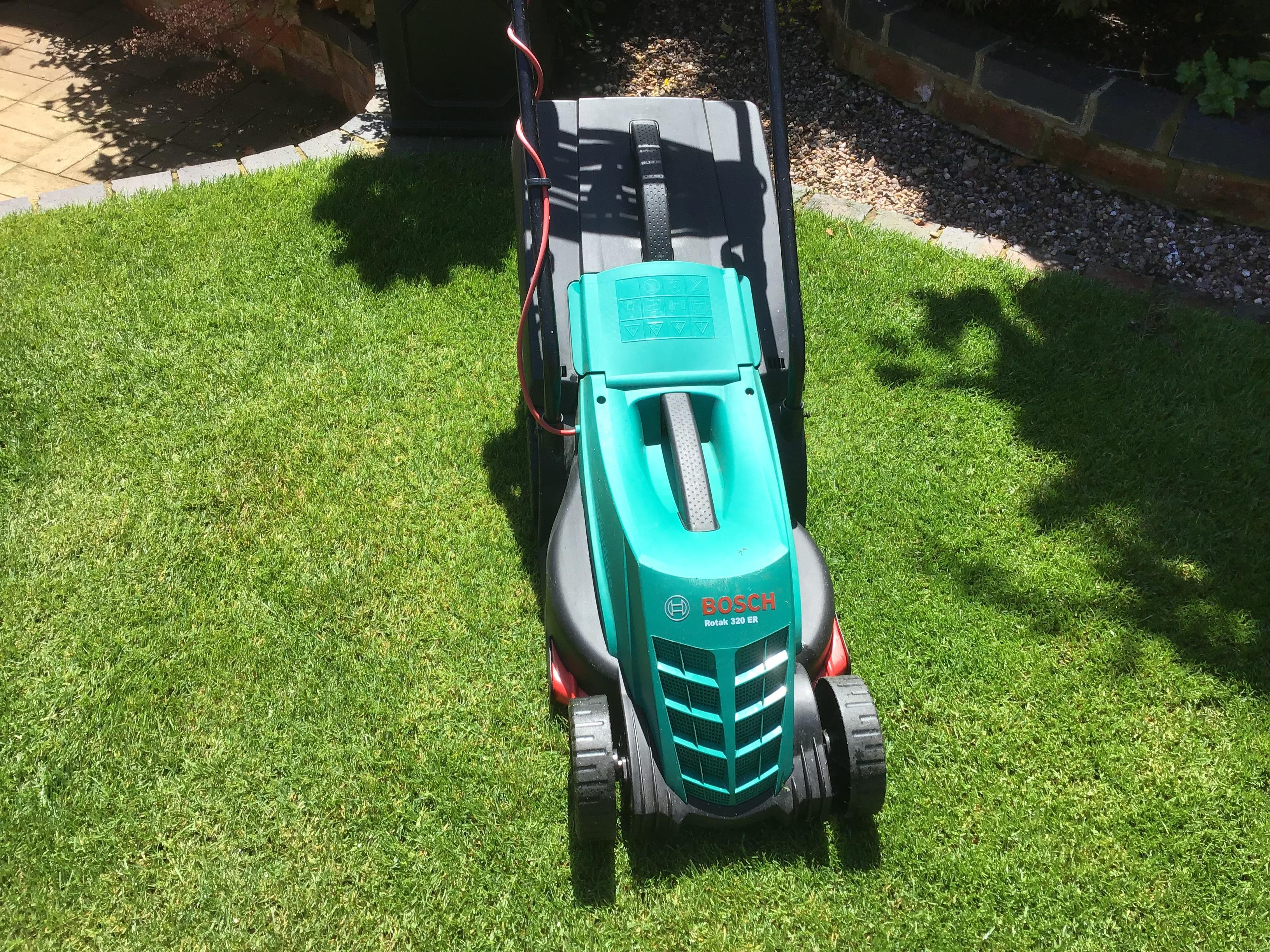 Bosch rotary electric lawn mower