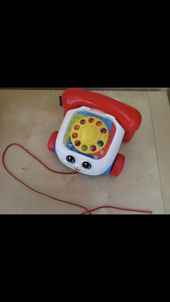 Fisher-Price Classic Childrens Telephone Toy