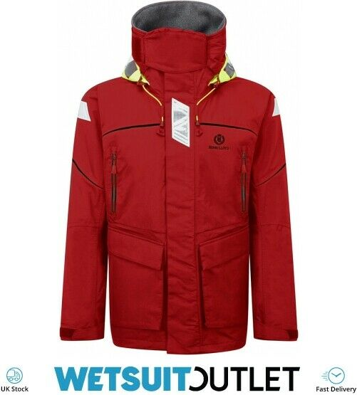 Henri Lloyd Freedom Offshore Sailing Yacht Jacket NEW RED