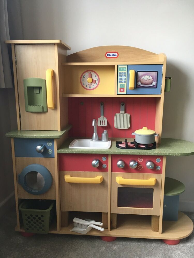 Little Tikes Wooden Kitchen
