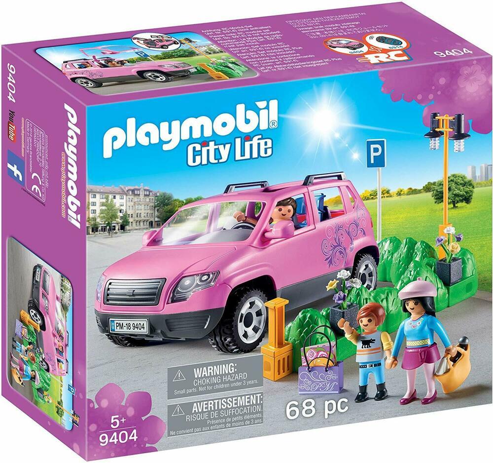 Playmobil  City Life Family Car Parking Space
