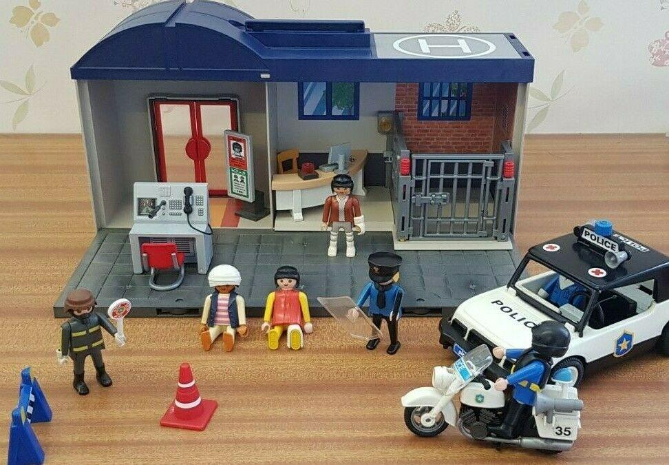 Playmobil Police Station  City Action + Police Car Bike