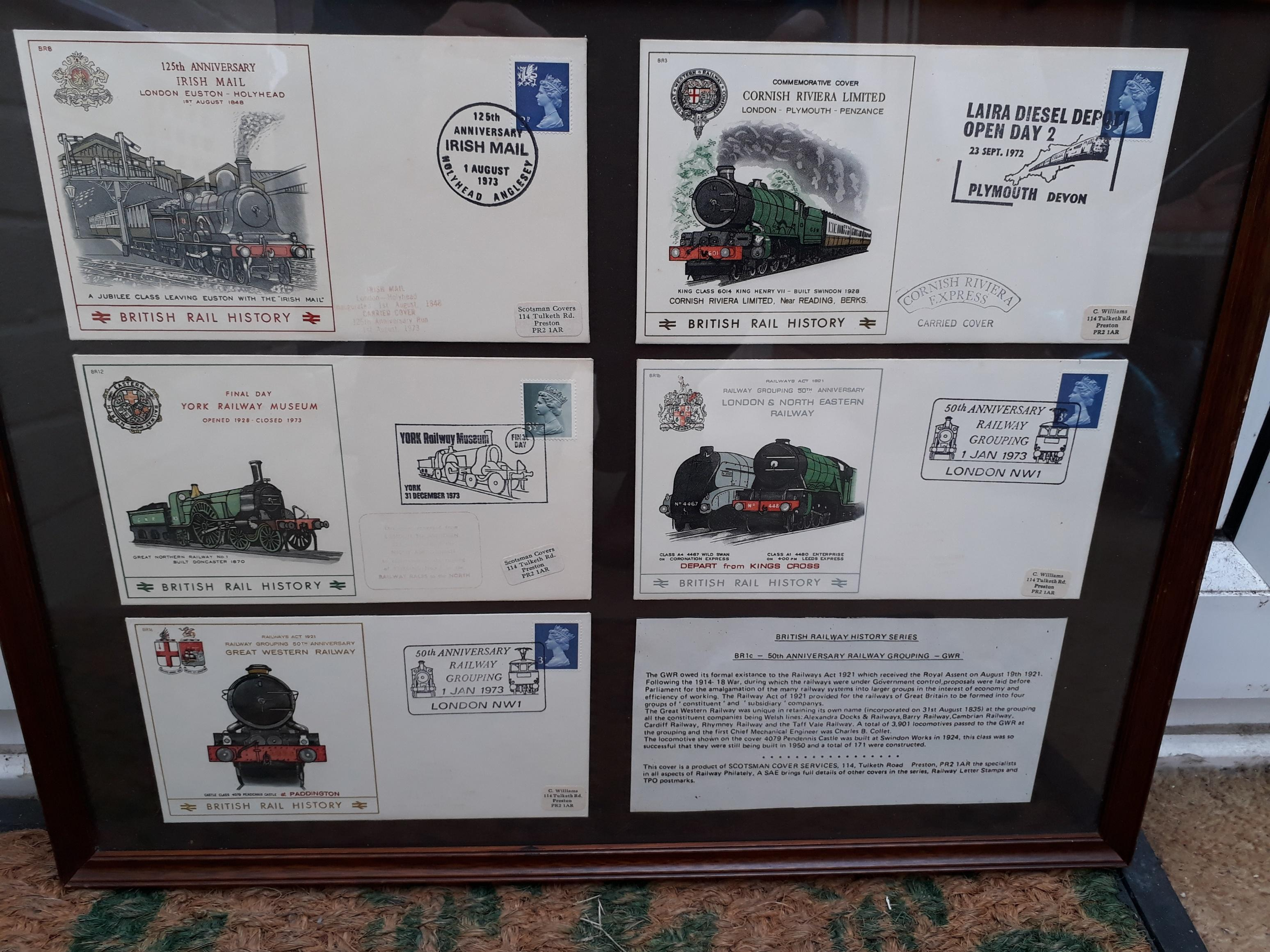 Railwayana - Royal Mail Covers