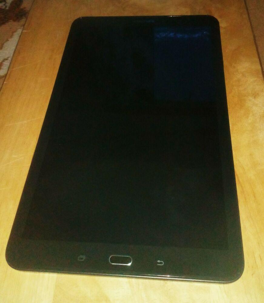 Samsung Galaxy Tab A (GB, Wi-Fi, 10.1in - Black. Not