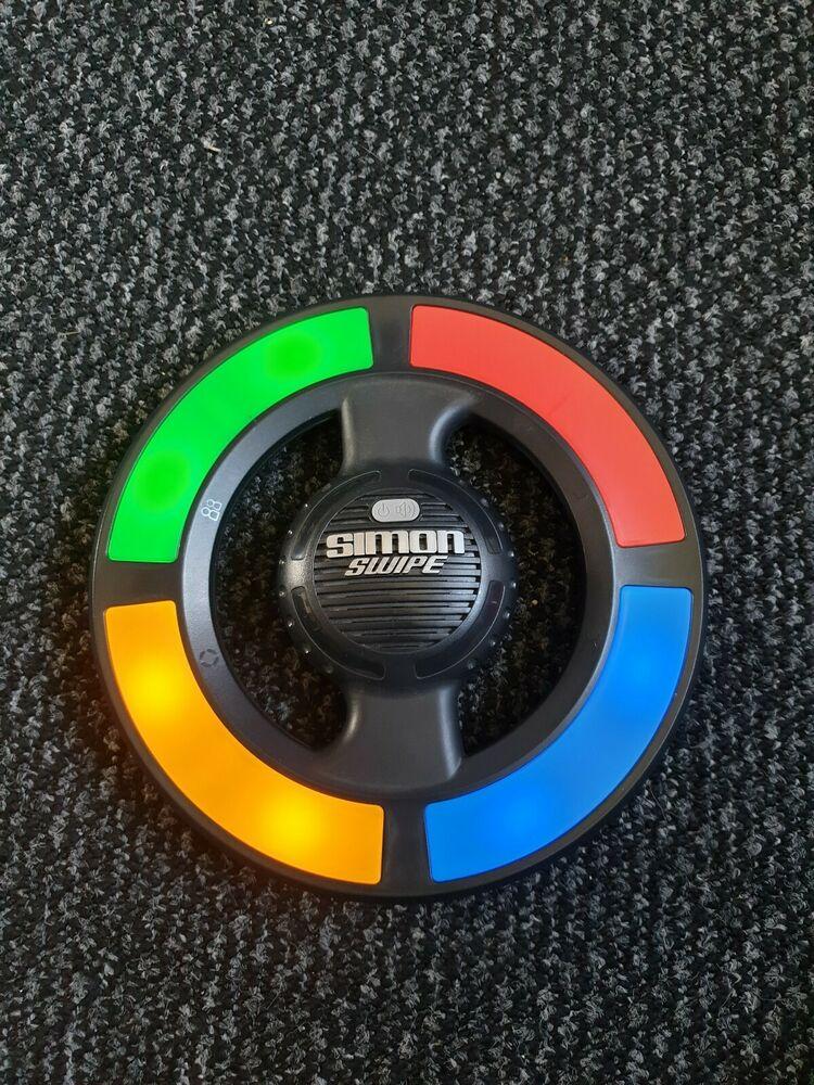 Simon Swipe Electronic Memory Game Light Up Simon Says