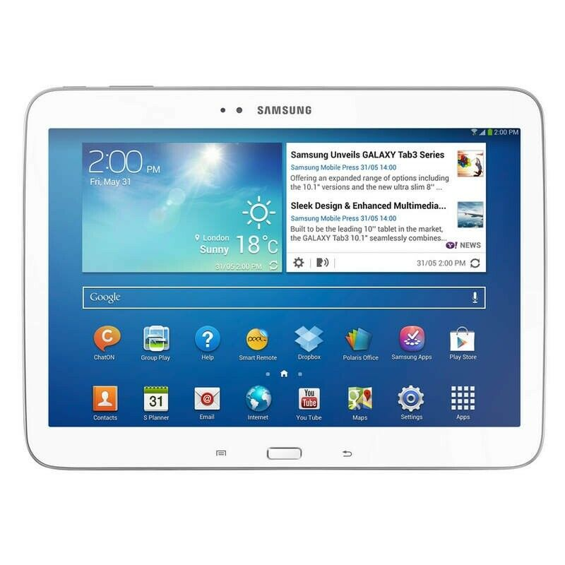 Tablet Samsung Galaxy TAB 3 4G GT P GB White Original