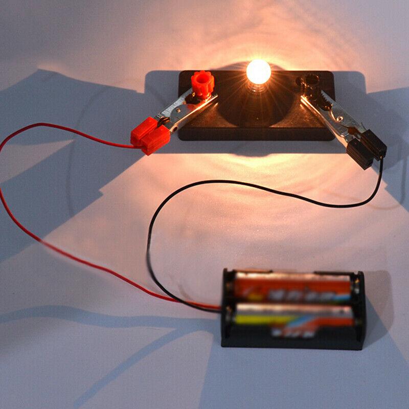 1 Pc Electric Circuit Kit Kids Children School Science