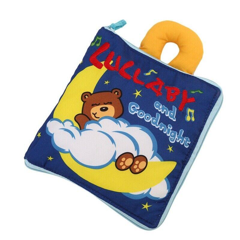 2X(Soft Books Infant Early cognitive Development My Quiet