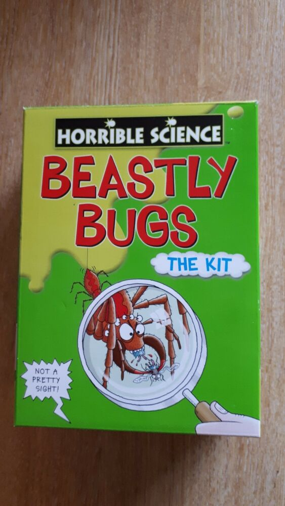 BEASTLY BUGS - THE KIT FROM HORRIBLE SCIENCE