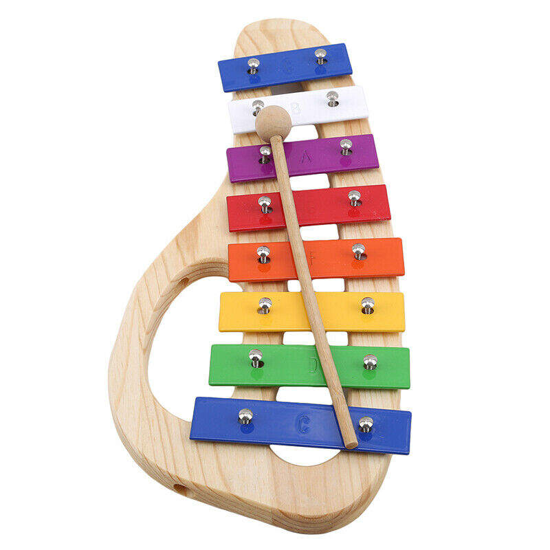 Baby Kid Educational 8 tone Xylophone Musical Toys Wooden