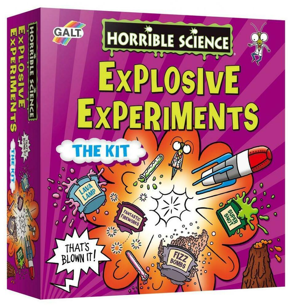 Galt Toys Horrible Science Explosive Experiments Multicolour