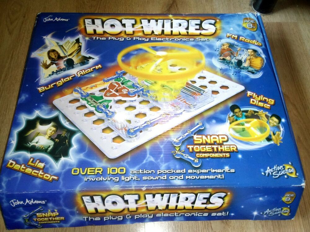 John Adams Hot Wires Educational Electronic Science Toy Set