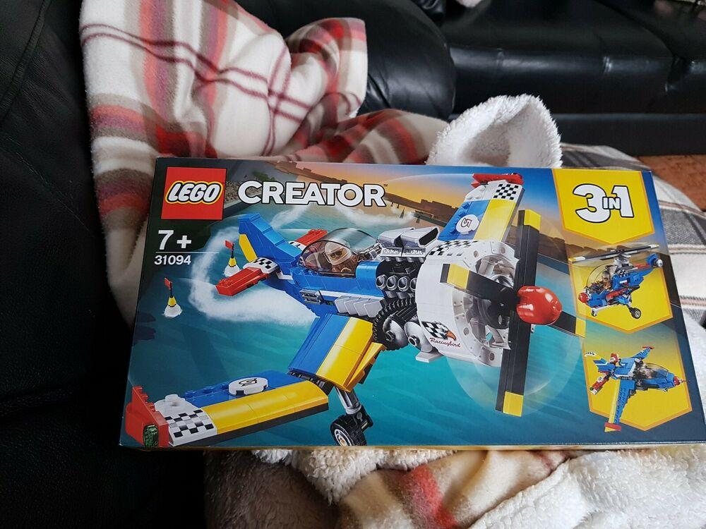 "LEGO CREATOR  Race Plane ""3 in  pcs)  New"