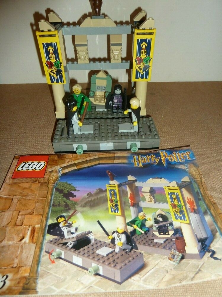 LEGO HARRY POTTER  THE DUELLING CLUB COMPLETE FIGS SNAPE