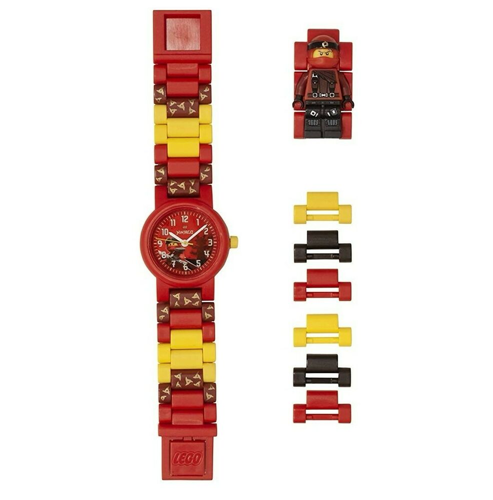 LEGO Ninjago  Kai Kids Buildable Watch with