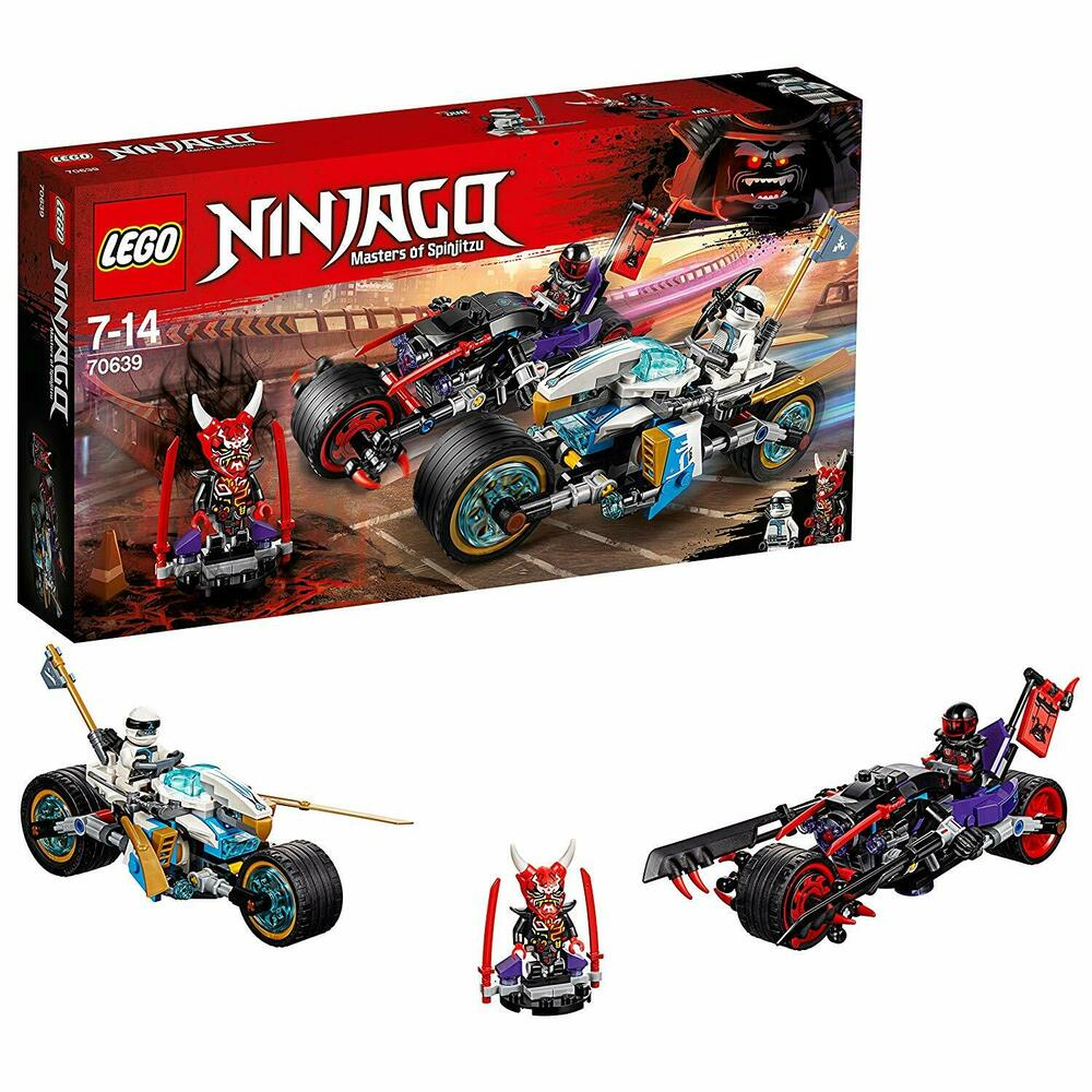 LEGO Street Race of Snake Jaguar Building Toy Masters of