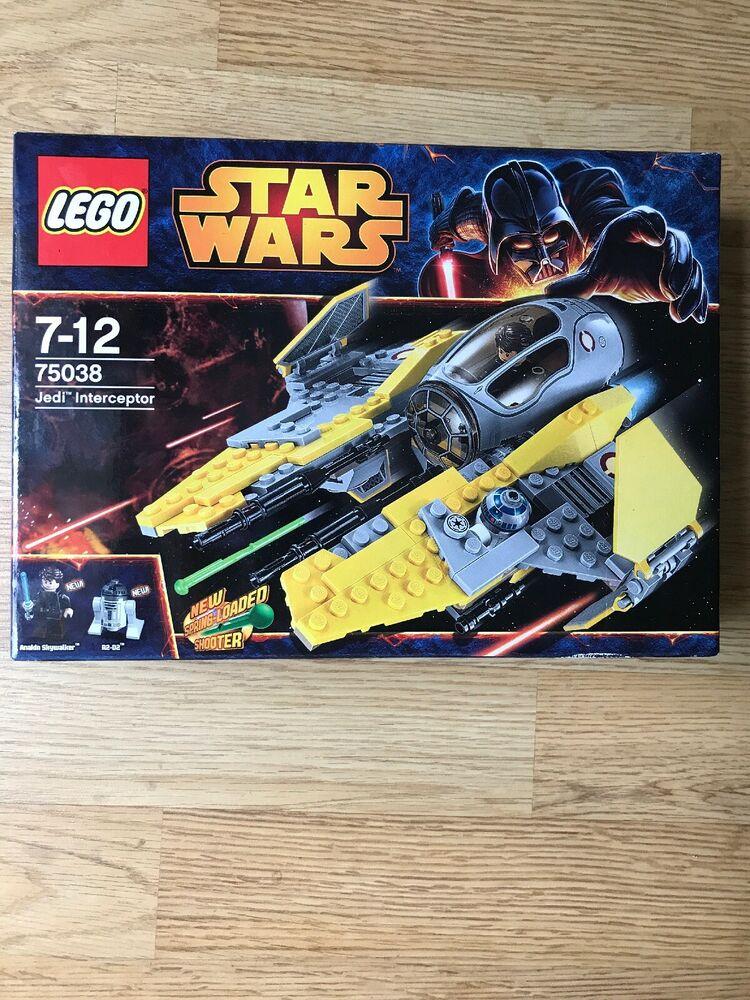 Lego  Star Wars Jedi Interceptor New Boxed & Sealed