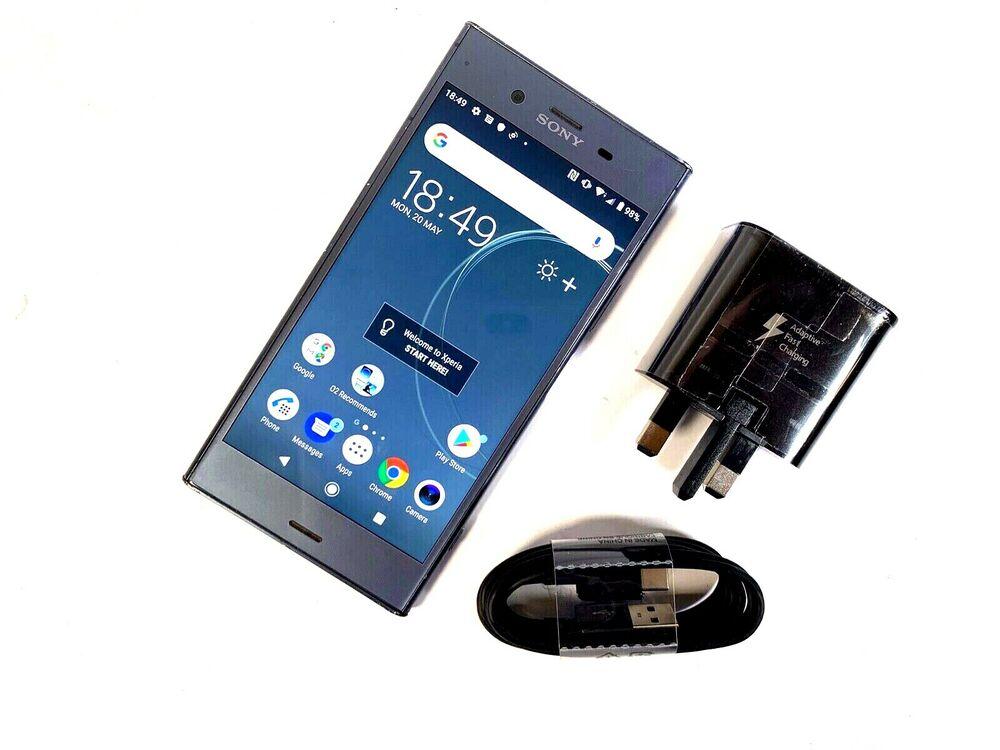 Sony Xperia XZ1 - 64GB - Moonlit Blue (Unlocked) GOOD