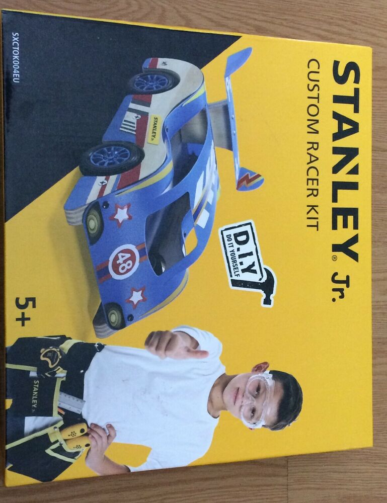 Stanley Jr Custom Racer Car Kit Kids Making Toys Stocking