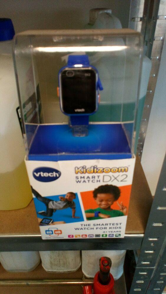 VTech Kidizoom Dual Camera Smart Watch - Blue