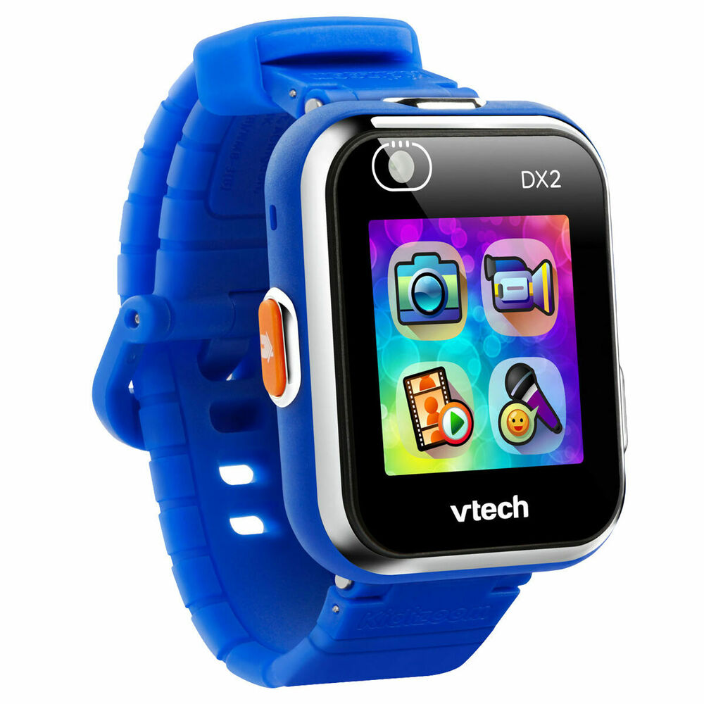Vtec Kidizoom Smart Watch DX2 Blue - Tough and serious