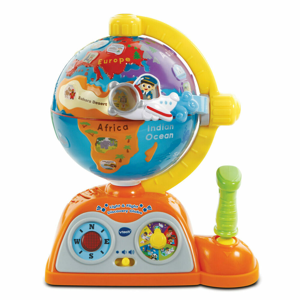 Vtec Light and Flight Discovery Globe - Fun way to Learn!
