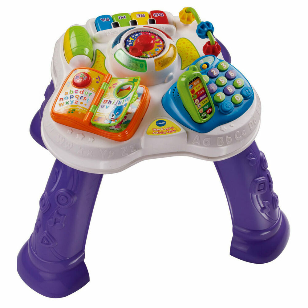 Vtec Play & Learn Activity Table - Music & Lights - with