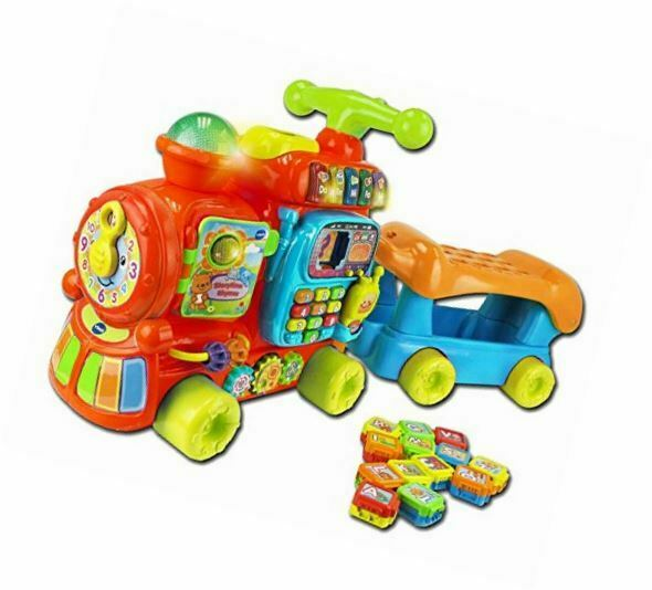 Vtech Push and Ride Alphabet Train Educational Learning