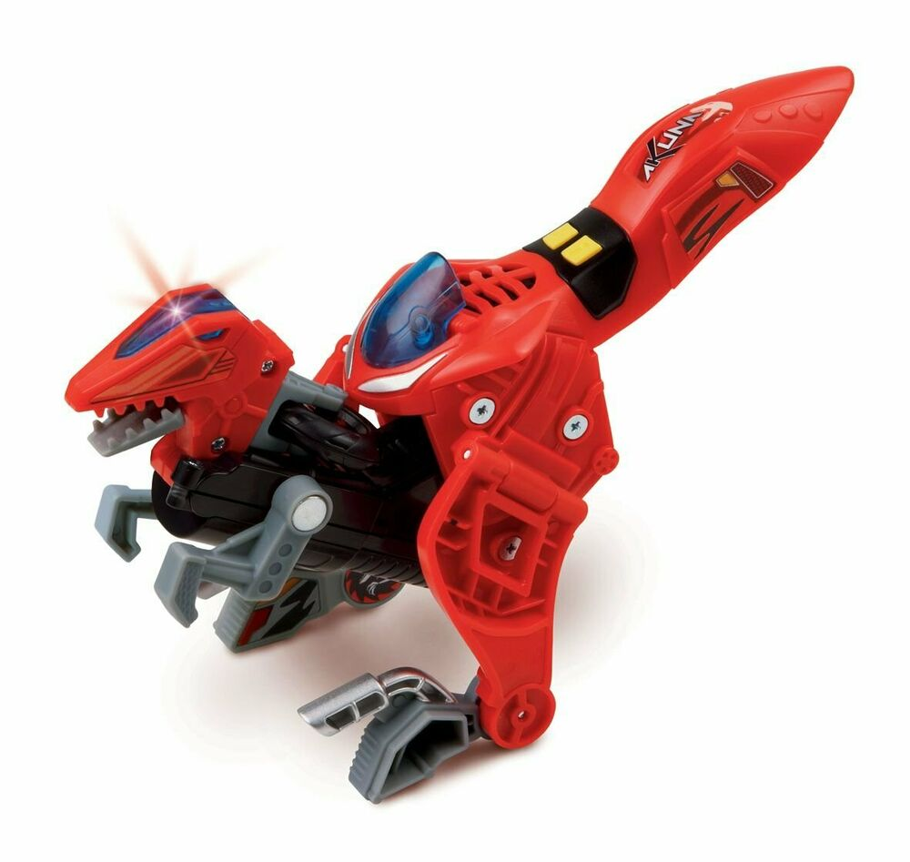 Vtech Switch and Go Dino Akuna the Velociraptor with Plays