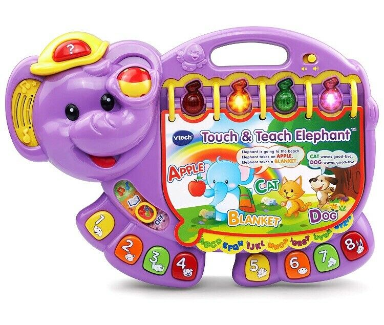 Vtech Touch and Teach Elephant Interactive Toy Book