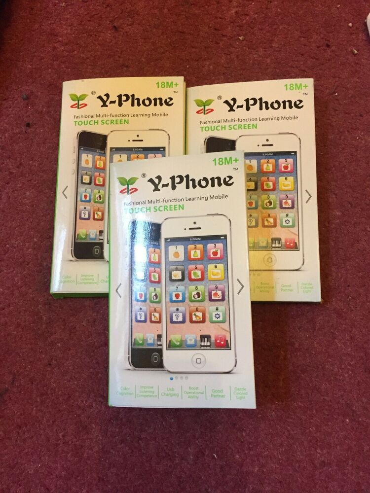 Y-Phone Toy Phone Kids New Educational English Learning