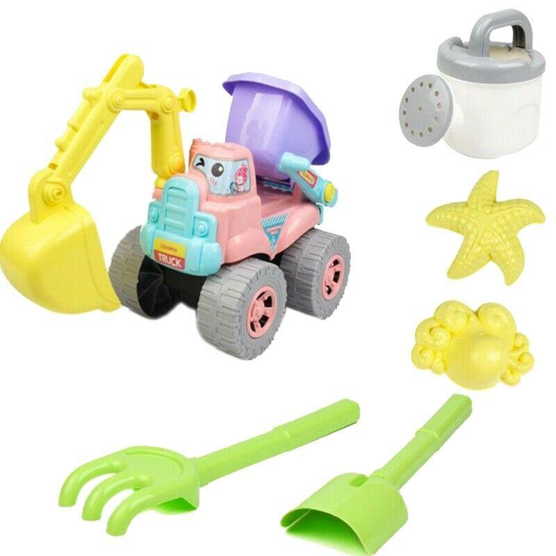 10X(Beach Toy 6 Piece Set Children Play Sand Water Digging