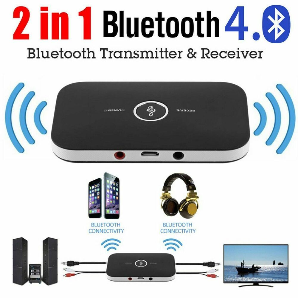 2in1 Wireless Bluetooth Audio Transmitter Receiver HIFI