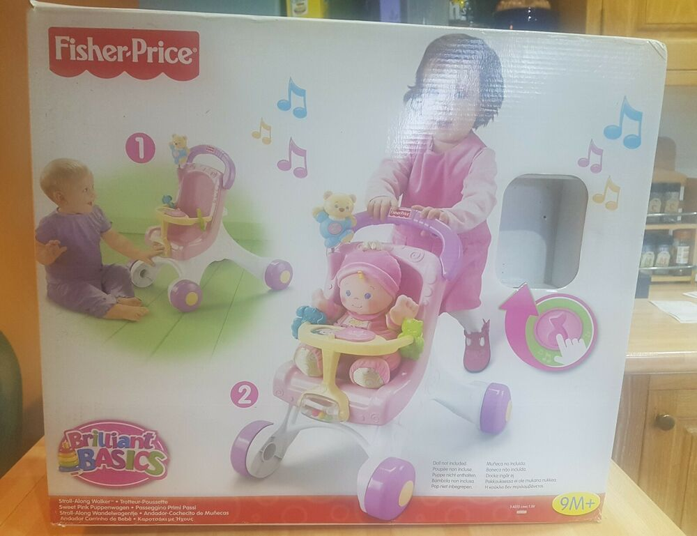 Fisher Price Musical Stroll Along Baby Walker