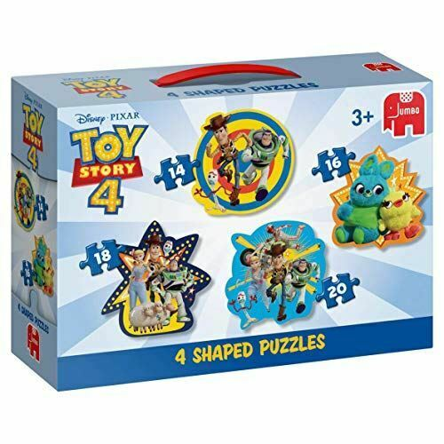 Jumbo  Disney Pixar Toy Story 4-4 in 1 Shaped Puzzles