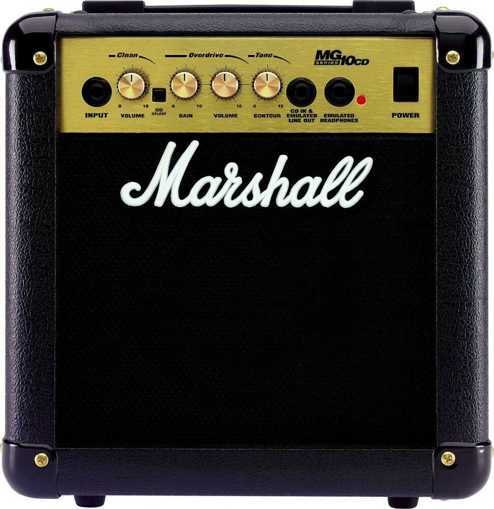 MARSHALL MG10CD Electric Guitar Combo Practise Amplifier 10