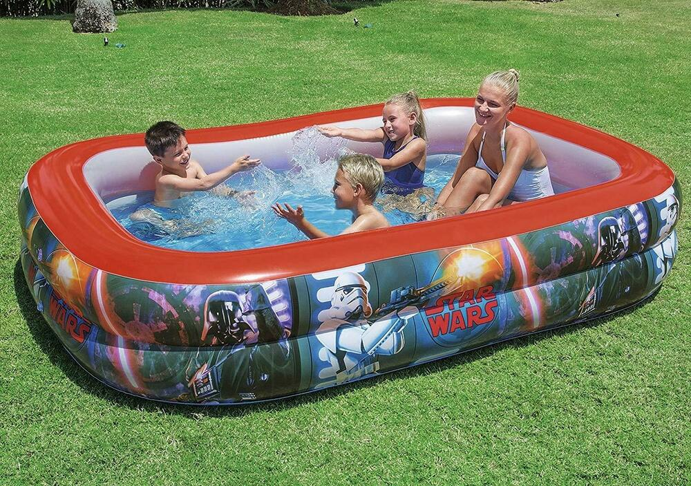 NEW KIDS STAR WARS FAMILY PADDLING/SWIMM ING POOL INFLATABLE