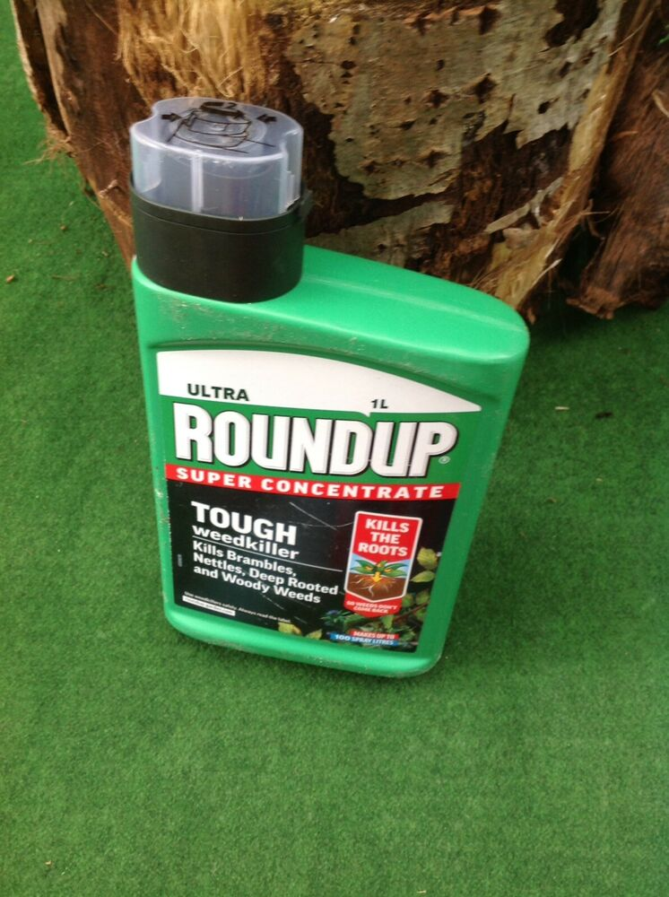 New Roundup Ultra Super Concentrated Liquid Weedkiller Free