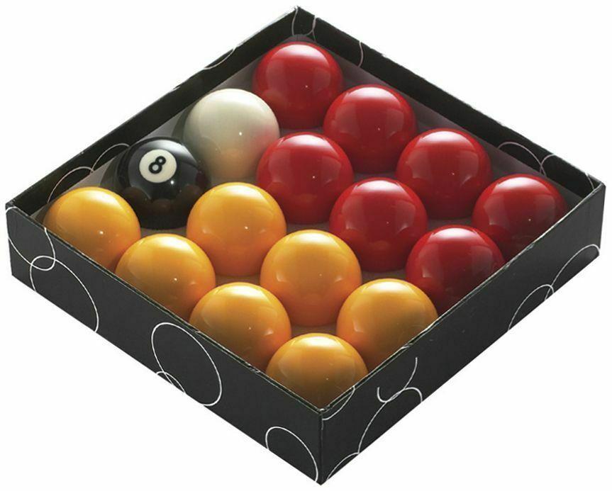 "Powerglide Pool Ball Red/Yellow - 1 7/8"""
