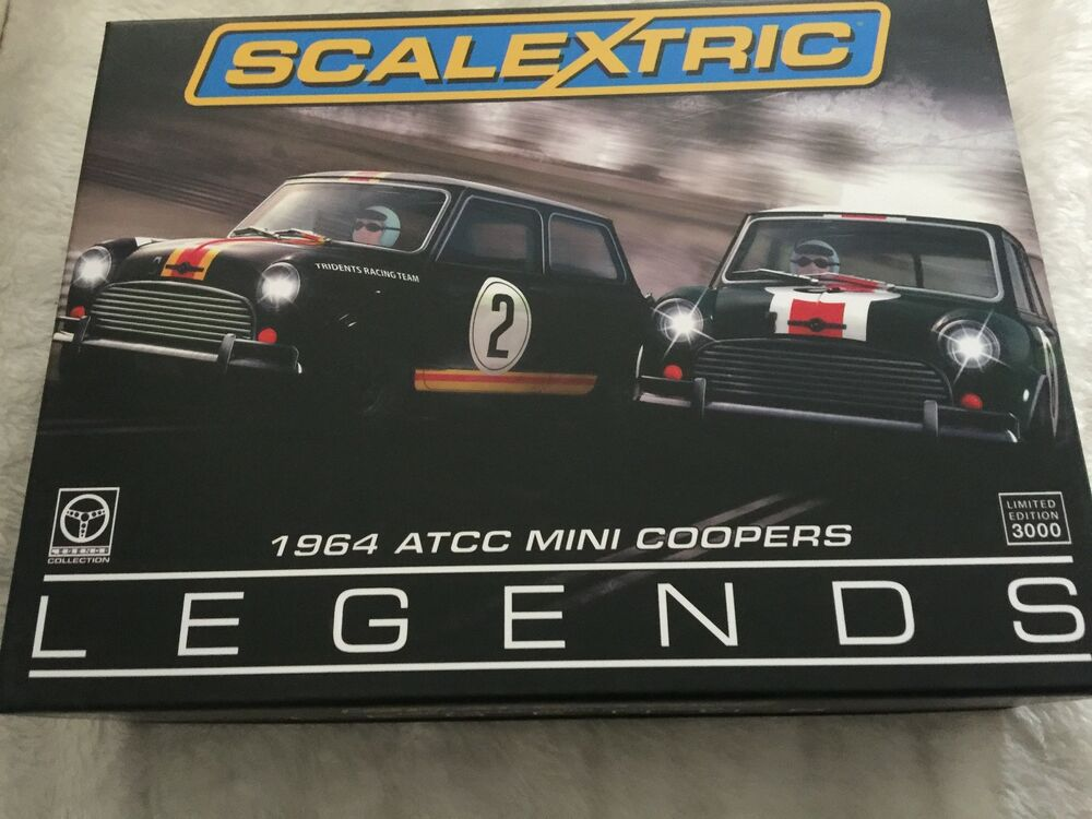 Scalextric  ATCC Legends Mini Cooper S set