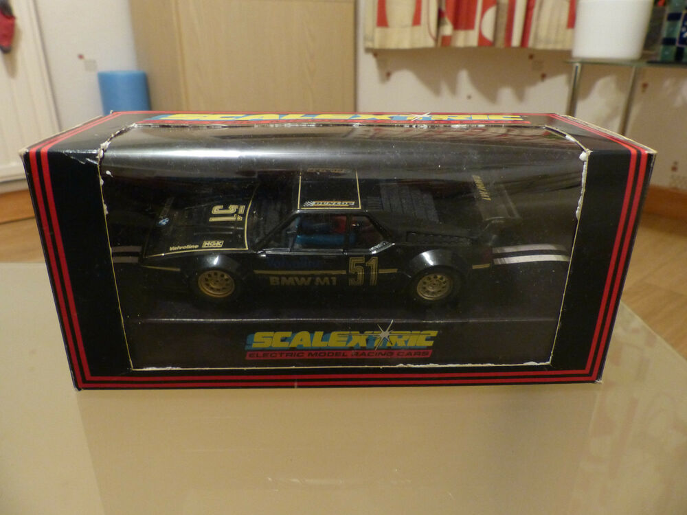 Scalextric BMW M1 - C347 in Black - Boxed
