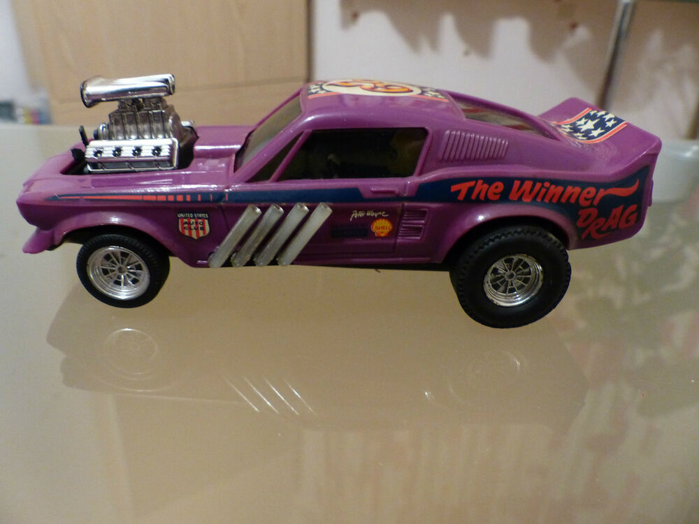 Scalextric Ford Mustang Dragster Ref  Purple