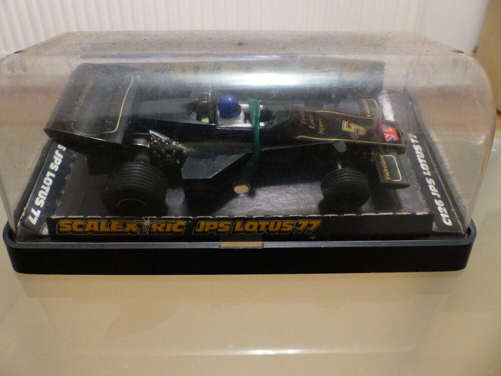 Scalextric Lotus 77 Ford Formula 1 - C126 JPS Black