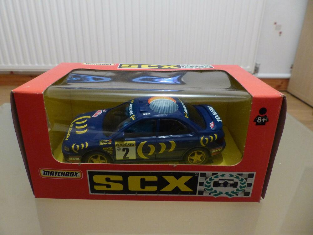 Scalextric Matchbox SCX Subaru Impreza - Repsol Racing Ref