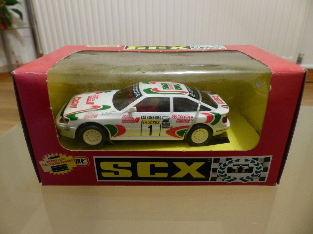 Scalextric SCX Toyota Celica 4WD Rally - Ref