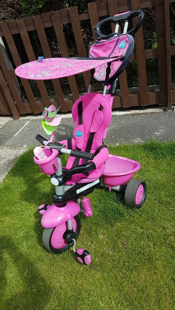 Smart Trike 4w1Wheeler Smart Design Kids Children Tricycle