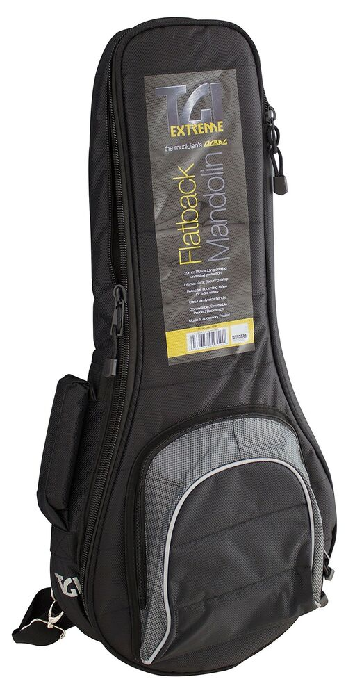 TGI  Bag for Flatback Mandolin Flat Back Mandolin