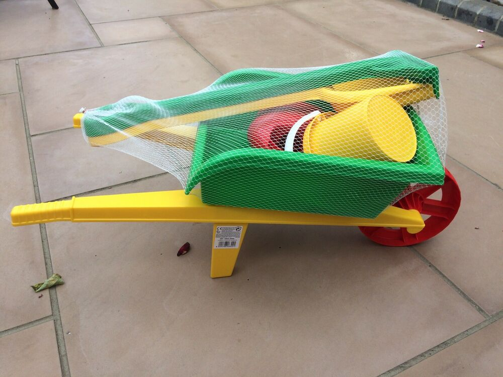Toy Wheelbarrow & Garden Set